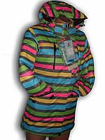 Куртка женская подростковая удлененная. Azimuth. 9149