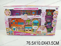 Кукольный дом с аксесс. и куклами,
