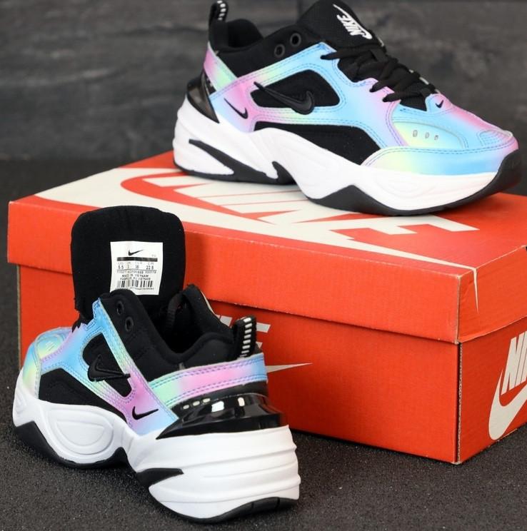 Женские кроссовки Nike M2K Tekno Chameleon 36-40р.. Живое фото. Реплика