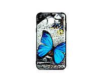 Чехол 3D Blue Butterfly Morpho для Samsung Galaxy J7 Neo J701 (16166), фото 1