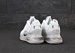 Теплые мужские кроссовки Nike Air Max 720-818 белые термо 41-45р. Живое фото (Реплика), фото 3