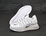 Теплые мужские кроссовки Nike Air Max 720-818 белые термо 41-45р. Живое фото (Реплика), фото 5