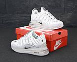 Теплые мужские кроссовки Nike Air Max 720-818 белые термо 41-45р. Живое фото (Реплика), фото 6