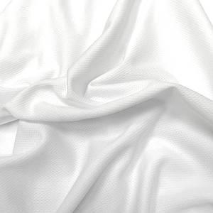 """Трикотаж футболочный """"сетка спорт"""" белый"""