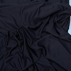 """Трикотаж футболочный """"сетка спорт"""" темно-синий"""