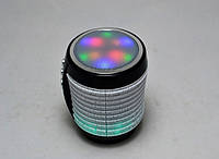 Портативная Bluetooth колонка WSTER WS-1805 со светомузыкой Черный (200529), фото 1