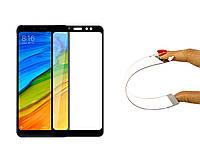 Защитное 5D cтекло Nano Flexible GLASS ITOP для Xiaomi Redmi S2 Full Cover Черный, фото 1