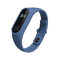 Фитнес-браслет UWatch М2 Синий + Серый ремешок (nri-816), фото 1