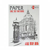 Набор бумаги для графики SANTI, А3 Fine art sketches, 20 л., 190 г/м2 742614