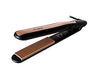 Щипцы-гофре для волос Pro Gemei Черно-золотистый (2286), фото 1