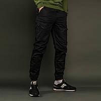 Карго штаны мужские черные от бренда Тур модель Апачи (Apache) размер S, M, L, XL, XXL