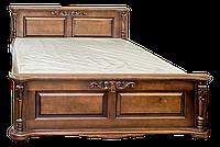 Кровать из дерева Корадо (160*200)-орех