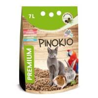 Aquael Comfy Pinokio универсальный древесный наполнитель для кошек, грызунов и птиц, 7л