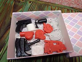 """Подарочный набор мыла """"Пожарному"""""""