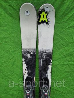 Гірські лижі бу Volkl ledge 148 см,  твін-тіп