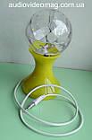 Обертова світлодіодна кольорова лампа на підставці, фото 2