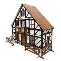 Кукольный Баварский Домик + мебель в подарок