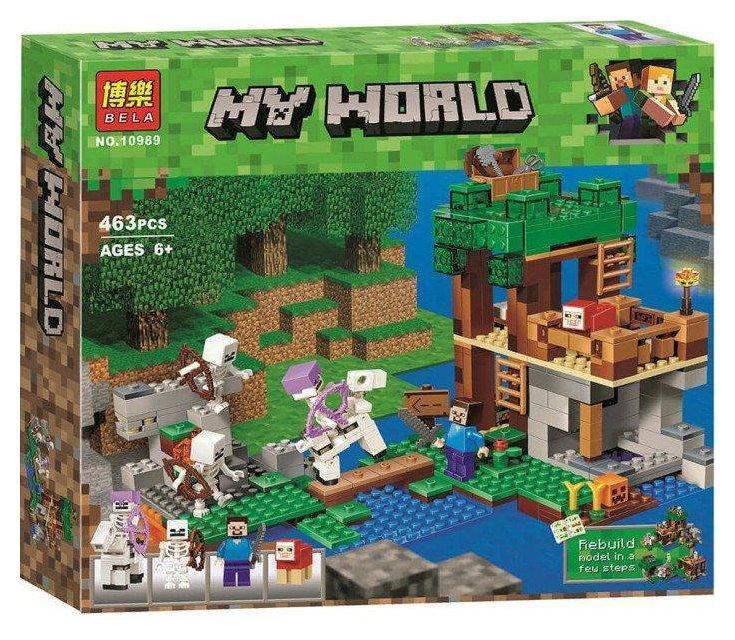 """Конструктор """"My world - Minecraft - Нападение армии скелетов"""""""