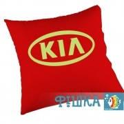 Подушка с логотипом KIA, фото 1