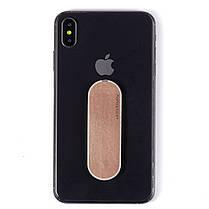 ☞Держатель для телефона Momostick iSeries (A-i-03) Pink многоразовая клейкая основа подставка для смартфона, фото 2