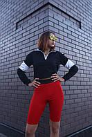 Велосипедки женские красные бренд ТУР модель Джин (Jin)
