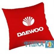 Подушка с логотипом Daewoo