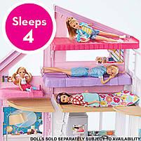 Набор Домик в Малибу Barbie House Playset Mattel (FXG57), фото 5