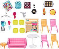 Набор Домик в Малибу Barbie House Playset Mattel (FXG57), фото 8