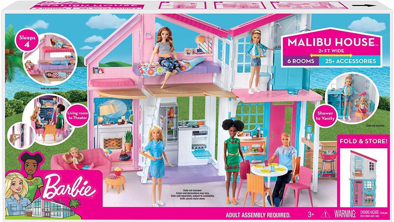 Набор Домик в Малибу Barbie House Playset Mattel (FXG57)