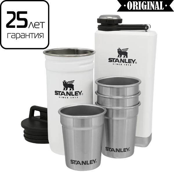 Подарочный набор Stanley Adventure Polar: 2 фляги и 4 рюмки