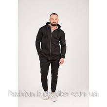 Мужской спортивный костюм черного цвета,размеры:44,46,48,50,52.