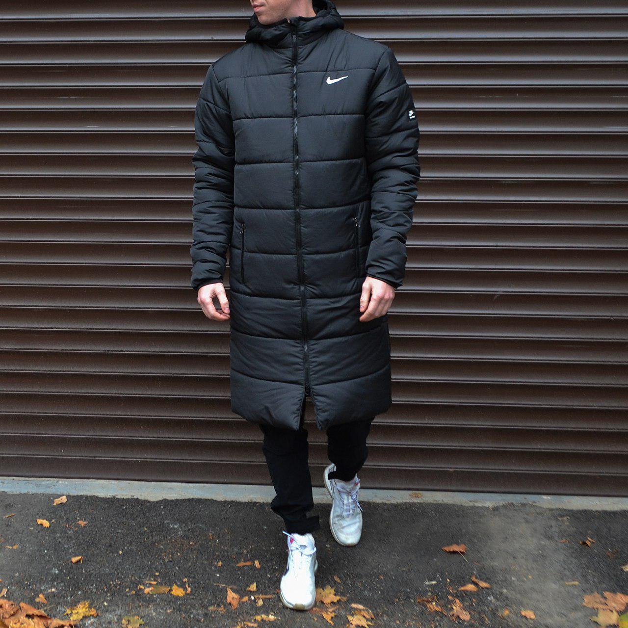 Зимняя мужская куртка парка  Nike (Найк)