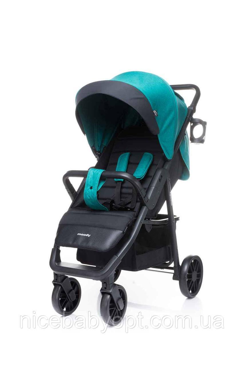 Детская прогулочная коляска 4Baby Moody 2020 Turkus