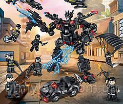 Полиция SWAT грузовик трансформер (32в1) конструктор Аналог Лего, фото 3