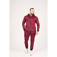 Мужской спортивный костюм бордового цвета,размеры:44,46,48,50,52., фото 1