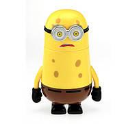 Термос детский Губка Боб желтый