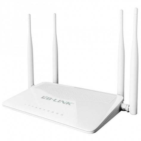 WiFi роутер LB-Link BL-WR450H 2.4GHz 300 Mbps  Режим 5в1.  5dBi*4 высокочувствительных антенн. Высокий уровень, фото 2