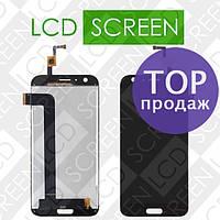 Дисплей для Doogee BL5000 с сенсорным экраном, черный, модуль, дисплей + тачскрин
