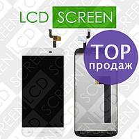 Дисплей для Doogee F3 F3 Pro с сенсорным экраном, белый, модуль, дисплей + тачскрин