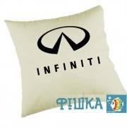 Подушка с логотипом Infiniti