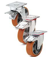 Основные типы колес устанавливаемых на тележки