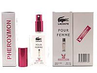Тестер в подарочной упаковке LACOSTE POUR FEMME Woman 60 мл в цветной упаковке с феромонами реплика