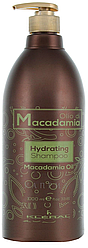 Kleral System Зволожуючий шампунь з маслом макадамії Olio Di Macadamia Hidrating Shampoo 1000 мл