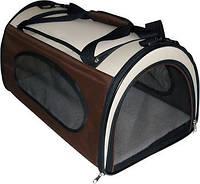 Сумка-палатка  для животного Fast&Easy,  удобно для выставок, хаки, 65x49x50 см