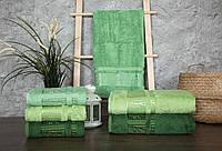 Полотенца бамбуковые  (3шт) 550г/м2 (TM ZERON)  AGAC BAMBOO, Турция