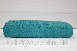 Мини-полотенце для рук махровое морская волна, фото 3