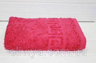 Полотенце для рук (бордовий), фото 2