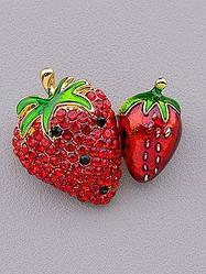 Брошки на одежду, овощи, фрукты, ягоды