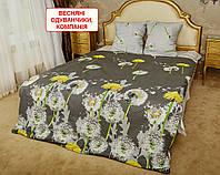Сімейний комплект постільної білизни - Весняні одуванчики, компанія