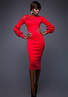 Платье Красное Сногсшибательное S-XL